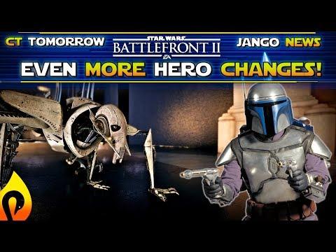 News Update! CT Tomorrow, Hero Changes, New Jango Fett Info and More!  Star Wars Battlefront 2