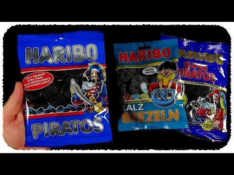 3x HARIBO Lakritz (Salty Licorice / Liquorice)