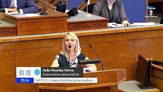 Helle-Moonika Helme: Kvoodivahendite tuludest peaksid osa saama ka vaesemad leibkonnad