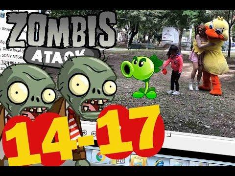 #PlantsVsZombies #C14 -- #C17 Plants vs zombies atack
