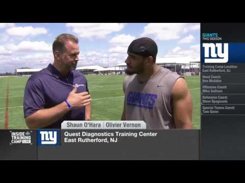 Olivier Vernon: I'm going to let my play speak for itself