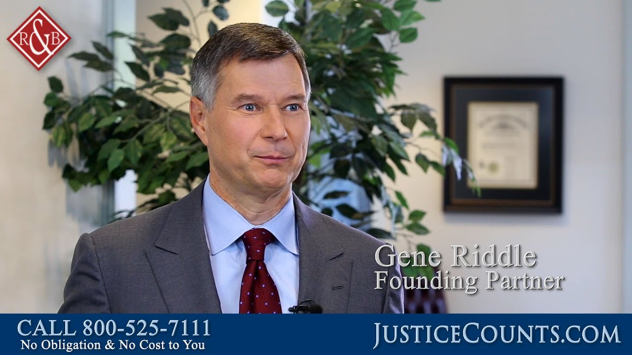 Meet North Carolina Personal Injury Attorney Gene Riddle