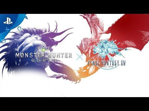 FFXIV's Behemoth Lands, Ready to Do Battle