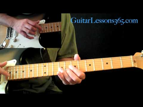 Electric Gypsy Guitar Lesson Pt.2 - Andy Timmons - Tap Harmonic Section & Bridge