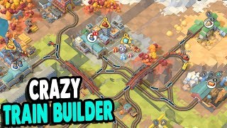 GREAT NEW TRAIN GAME | Building Insane Train Lines For Big Money | Train Valley 2 Gameplay