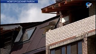 В Панковке завершаются восстановительные работы в пострадавшем от майского пожара доме