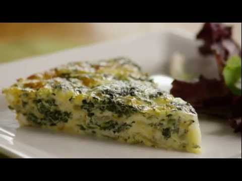 Video How to Make Crustless Spinach Quiche
