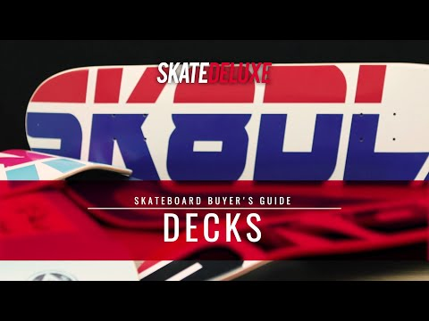 Welches Skateboard Deck passt zu dir? | skatedeluxe Buyer's Guide