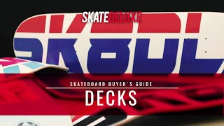 Welches Skateboard Deck passt zu dir? | skatedeluxe Buyer's Guide