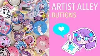 Artist Alley - Buttons