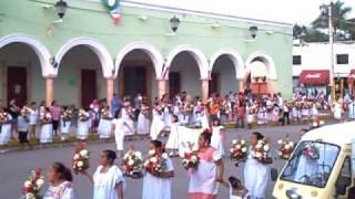 preview picture of video 'Sras y sritas09 gremio de Maxcanú'