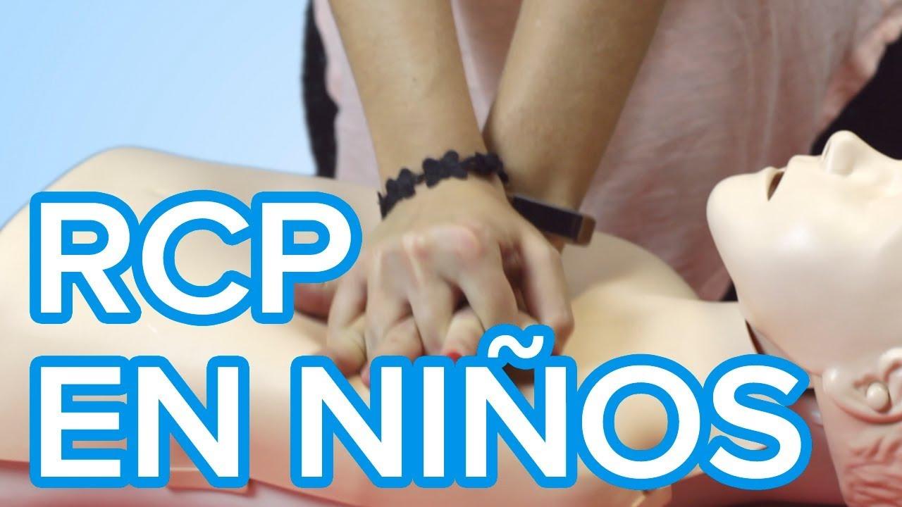 Cómo hacer la RCP o Reanimación cardiopulmonar en niños