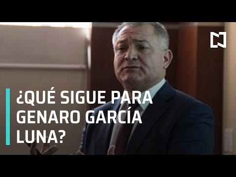 Audiencia de Genaro García Luna | Detienen a Genaro García Luna - A las Tres
