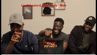 Comethazine & A$AP Rocky   Walk (Remix) (Official Audio) Reaction