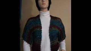 How to knit a shrug, bolero - with Ruby Stedman