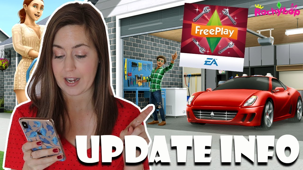 The Sims Freeplay Grand Garages Update!
