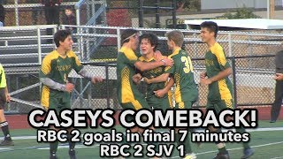 Red Bank Catholic 2 Saint John Vianney 1 | Caseys 2 goals in final 7 minutes