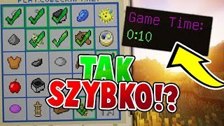 IDEALNY START! - MINECRAFT BINGO #4 /w zio