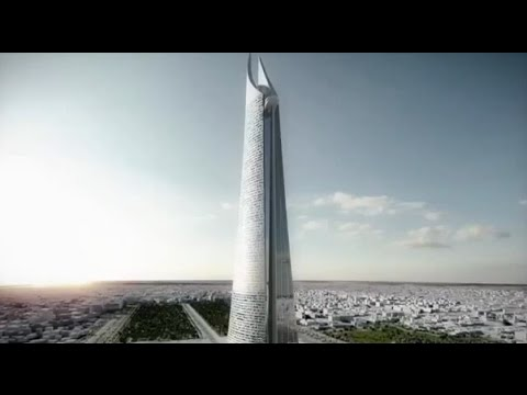 KING MOHAMMED VI TOWER the largest tower in Africa and Europe