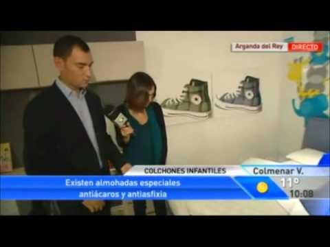 Colchon de cuna como deben ser  Entrevista Telemadrid