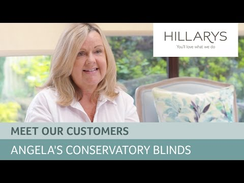 Choosing conservatory blinds: Meet Angela YouTube video thumbnail