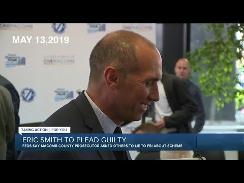 Former Macomb Co. Prosecutor Eric Smith pleads guilty to obstruction of justice charges