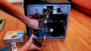 PC Festplatte einbauen    Deutsch