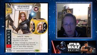 SW Destiny - Set 5 Spoilers - Luke and Grievous!