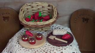Dollhouse Miniature Jam Jars