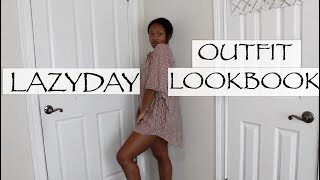 LAZY DAY OUTFIT LOOKBOOK || MiniGives