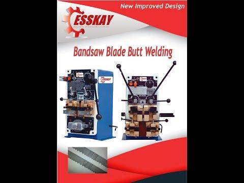 Butt Welding Machine For Badsaw Blades