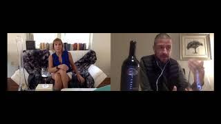 Catando los vinos de Pinea