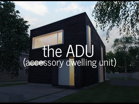 All about ADUs (accessory dwelling units)