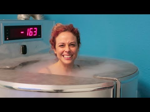 TRYING CRYOTHERAPY! -200 DEGREES! | ADVENTURES IN CURIOSITY!