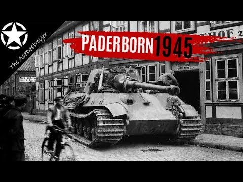The Battle of Paderborn - 1945