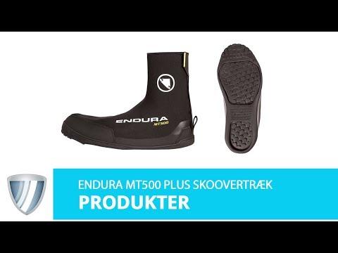 Endura MT500 Plus Skoovertræk Almindelige Sko video