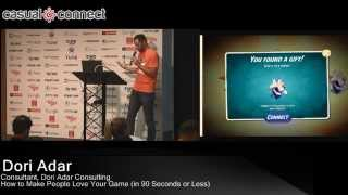 How to Make People Love Your Game | Dori Adar