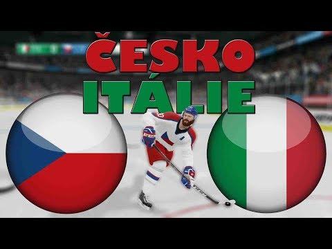 ČESKO - ITÁLIE | MS 2019 | NHL 19 | CZ/SK