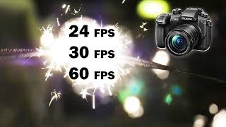 24, 30 or 60 FPS? What's the Best FRAME RATE For VIDEO?