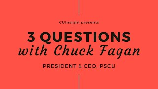 3 Questions with PSCU's Chuck Fagan
