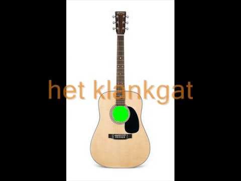gitaar en zijn onderdelen