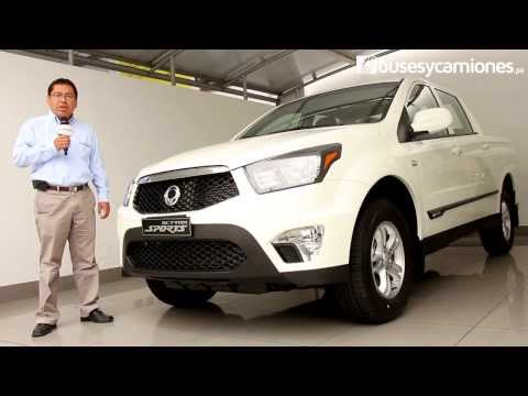 SsangYong Actyon Sports 2013 l Video en Full HD l Presentado por BUSESYCAMIONES.pe