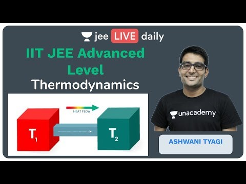Thermodynamics (Entropy) - JEE Advanced | Unacademy JEE | LIVE DAILY | JEE Chemistry | Ashwani Sir