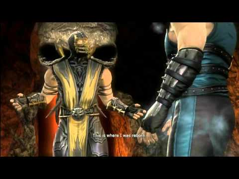MK9 story mode Chapter 3: Scorpion cutscenes