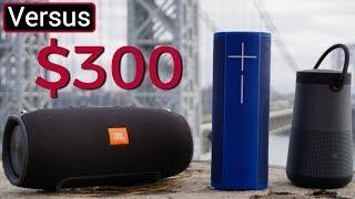 JBL Xtreme Vs UE Megablast Vs Bose Soundlink Revolve Plus - $300 Speaker Showdown