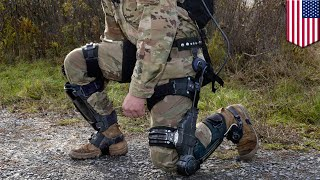 US army developing exoskeletons for soldiers - TomoNews