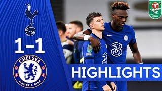 Tottenham Hotspur 1-1 Chelsea (5-4 pens)   Carabao Cup Highlights