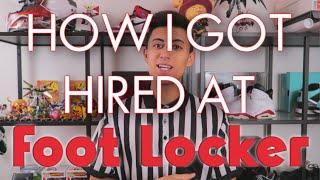 FIRST DAY AT FOOTLOCKER (Vlog #9)