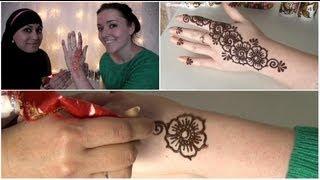 How To: Henna Tattoo Zetten