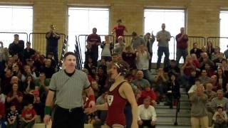 Wrestling Highlights vs. Cornell